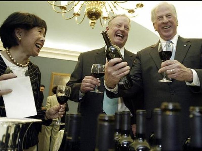 Caucus Wine Tasting on Capitol Hill